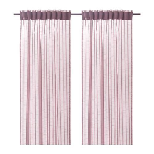 GJERTRUD sheer curtains, 1 pair