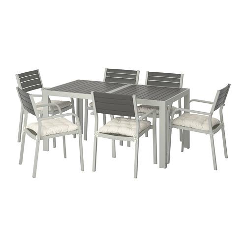 SJÄLLAND стол+6 кресел,д/сада