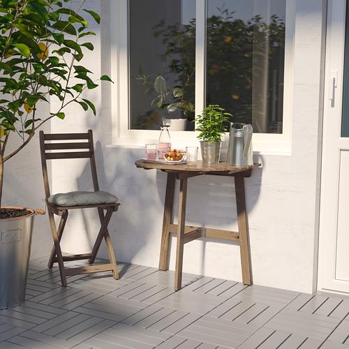 ASKHOLMEN lauko stalas ir sulankstomoji kėdė