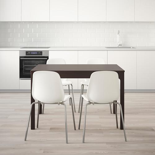 LEIFARNE/EKEDALEN стол и 4 стула