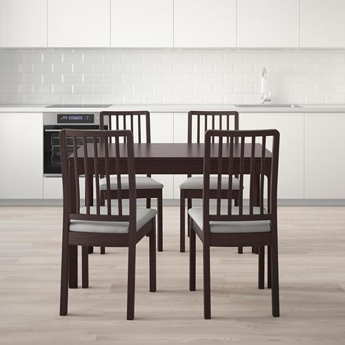 EKEDALEN/EKEDALEN стол и 4 стула