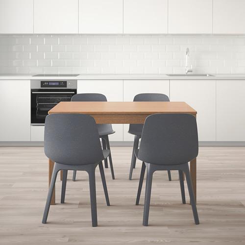 ODGER/EKEDALEN stalas ir 4 kėdės