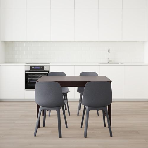 EKEDALEN/ODGER стол и 4 стула