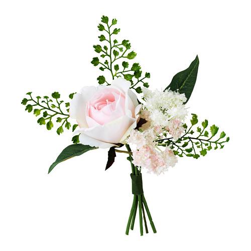 INBJUDEN dirbtinių gėlių puokštė