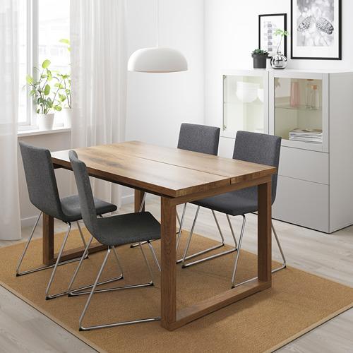 VOLFGANG/MÖRBYLÅNGA stalas ir 4 kėdės