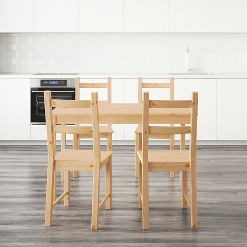 IVAR/INGO stalas ir 4 kėdės