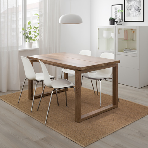 LEIFARNE/MÖRBYLÅNGA стол и 4 стула