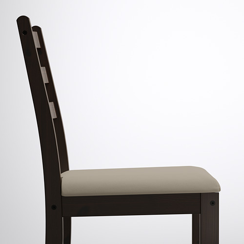 LERHAMN/GAMLARED стол и 2 стула