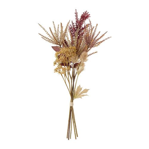 HÖSTKVÄLL mākslīgo ziedu pušķis  61 cm lietošanai telpās vai ārā/smilškrāsā