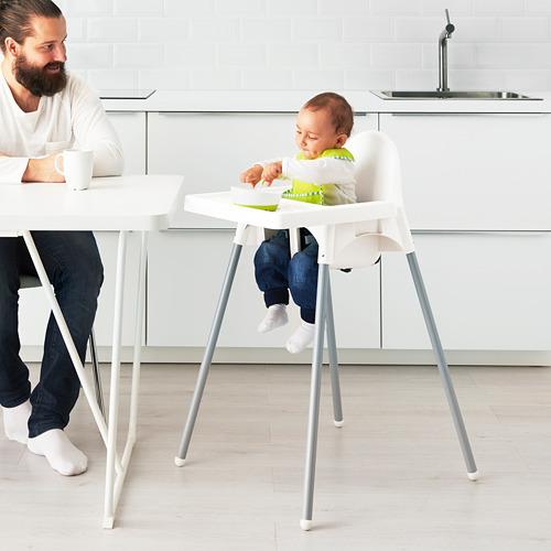 ANTILOP высокий стульчик со столешн