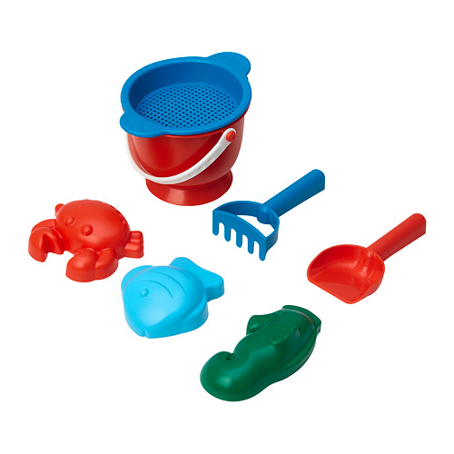 SANDIG 7-piece sand play set
