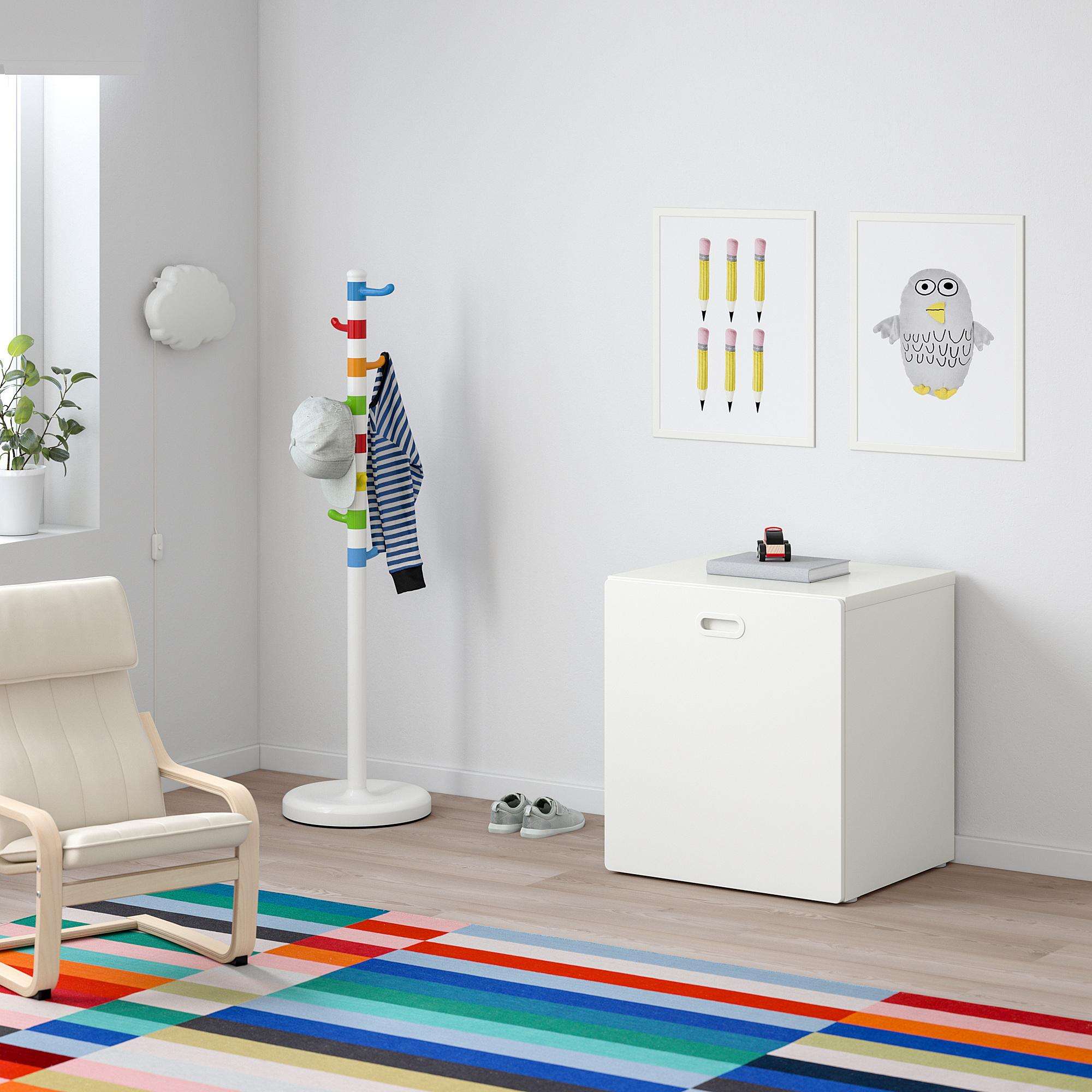 FRITIDS/STUVA toy storage with wheels