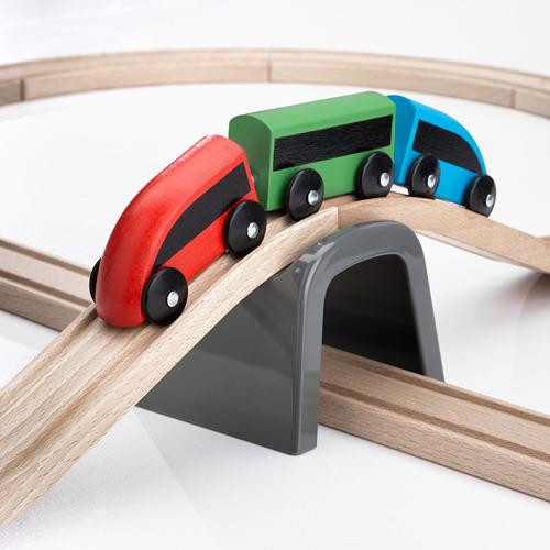 LILLABO 20 dalių žaislinis geležinkelis