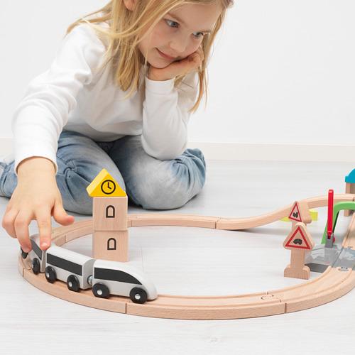 LILLABO traukinys ir bėgiai, 45 d. rinkinys