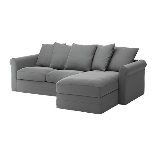 GRÖNLID trivietės sofos užvalkalas