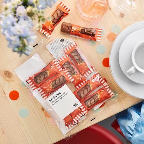 BELÖNING pieninis šokoladas