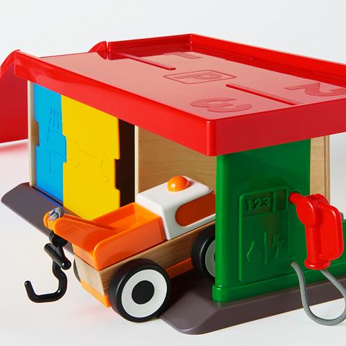 LILLABO garažas su vilkiku