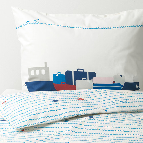 UPPTÅG antklodės užv. ir pagalvės užv.