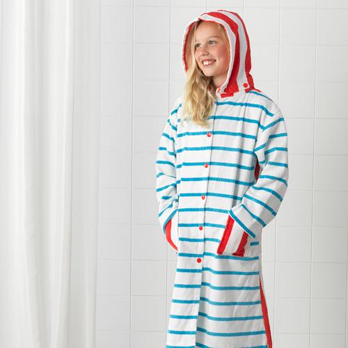 SJÖLEJON bath robe