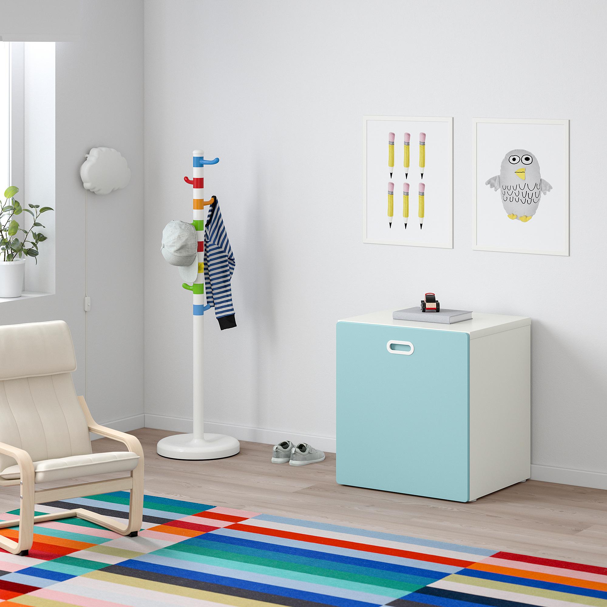 STUVA/FRITIDS toy storage with wheels
