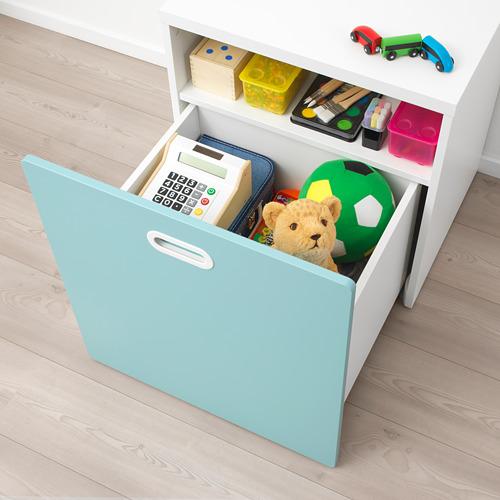 FRITIDS/STUVA žaislų dėžė su ratukais