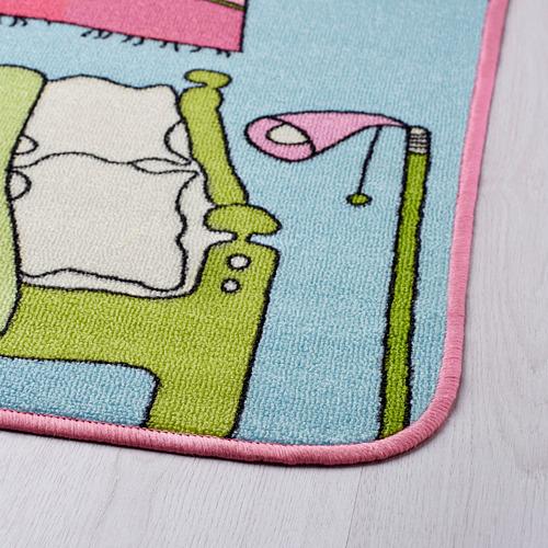 RUMMET rug, low pile