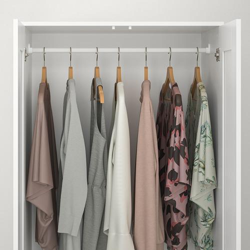 BRIMNES шкаф платяной 2-дверный