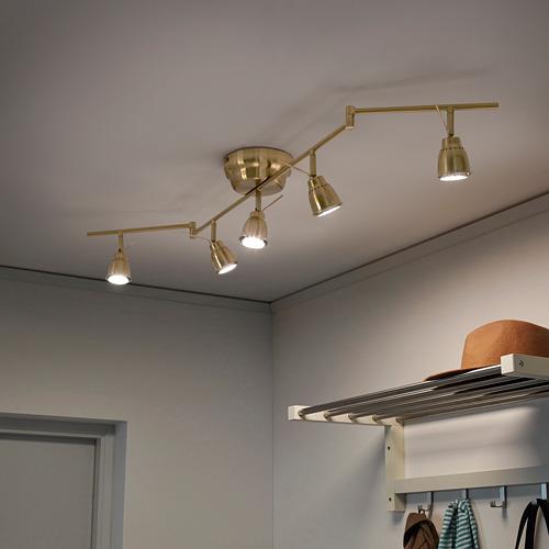 BAROMETER lubinis 5 lempų šviestuvas