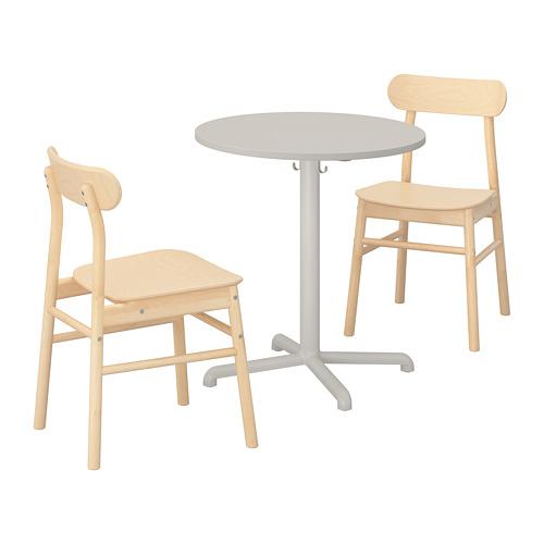 STENSELE/RÖNNINGE galds un 2 krēsli