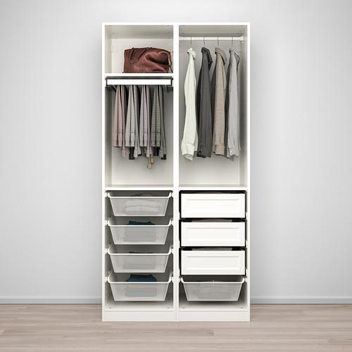 PAX/GRIMO гардероб, комбинация