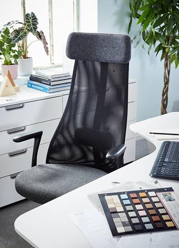JÄRVFJÄLLET biuro kėdė su porankiais