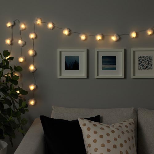 LIVSÅR 24 LED lempučių girlianda