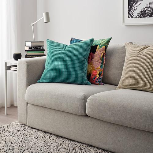 GULLKLOCKA cushion cover