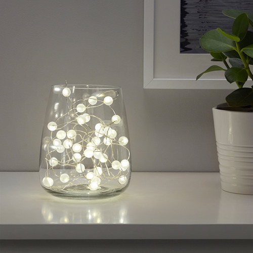 SNÖYRA 40 LED lempučių girlianda