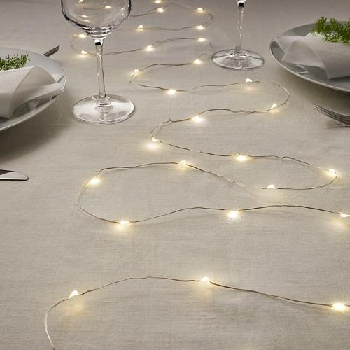 VISSVASS 40 LED lempučių girlianda