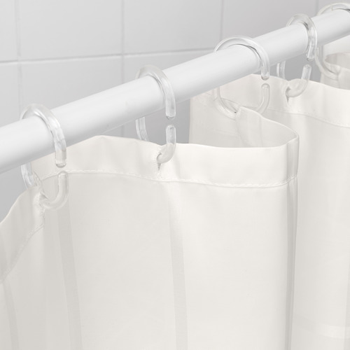 KLOCKAREN shower curtain