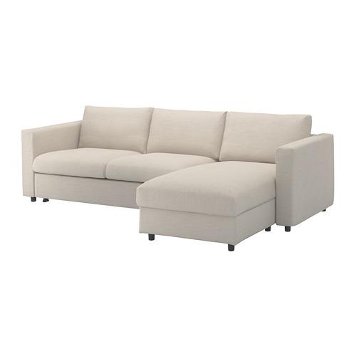 VIMLE trivietės sofos-lovos užvalkalas