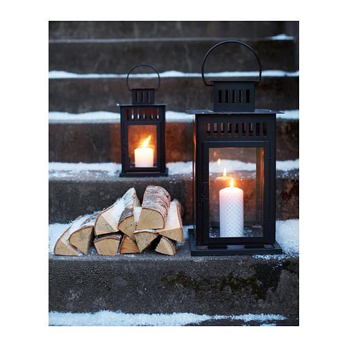 BORRBY фонарь для формовой свечи