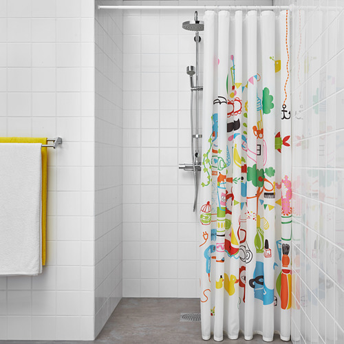 BOTAREN shower curtain rod