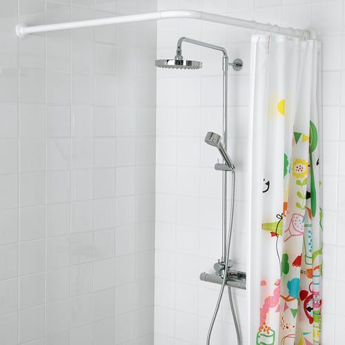 VIKARN shower curtain rod