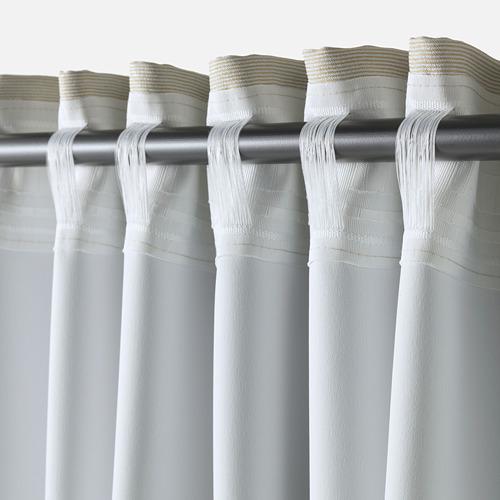 VILBORG curtains, 1 pair