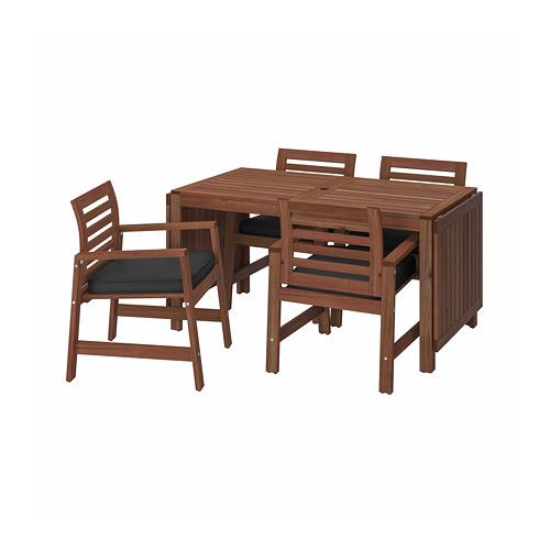 ÄPPLARÖ стол+4 кресла, д/сада