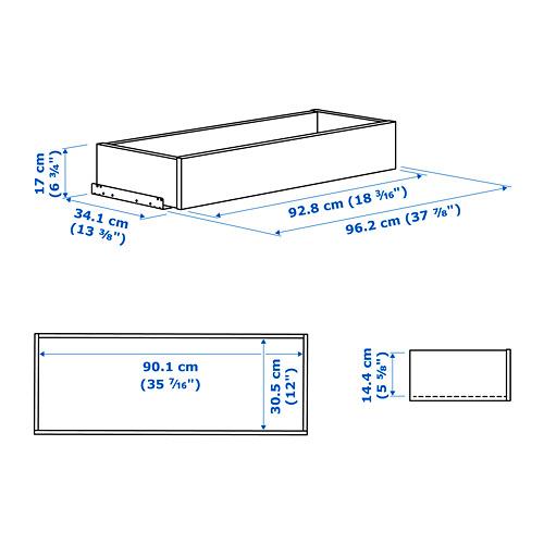 KOMPLEMENT ящик/стеклянная фронтальная панель