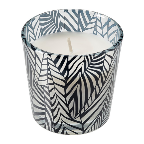 MEDKÄMPE scented candle in glass