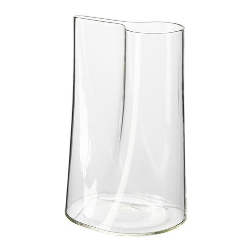 CHILIFRUKT, vāze/lejkanna 21 cm stikls