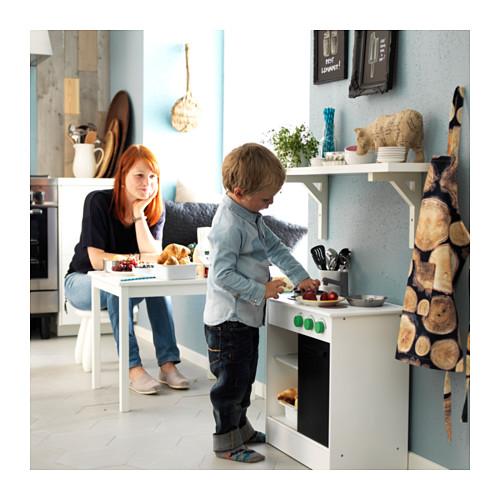 NYBAKAD play kitchen with sliding door