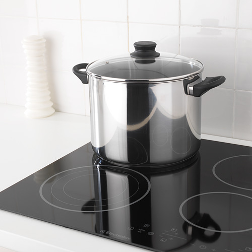 ANNONS pot with lid