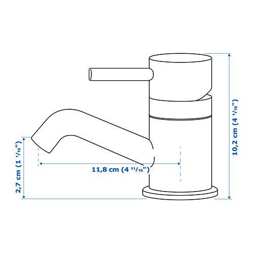 PILKÅN vandens maišytuvas su dugno vožtuvu