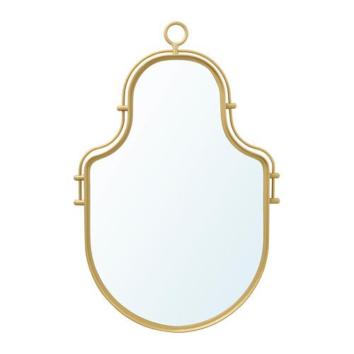 ÄNGABODA, spogulis 28x43 cm zelta krāsā