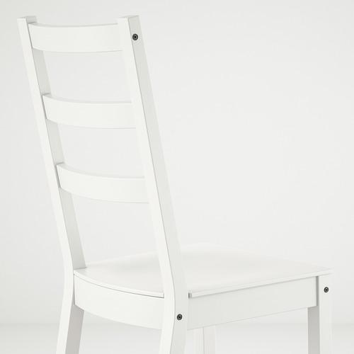 NORDVIKEN/NORDVIKEN table and 4 chairs